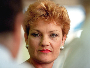 the Pauline Hanson we all know and .... know