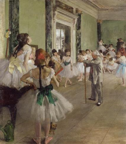'The Dance Class' 1874