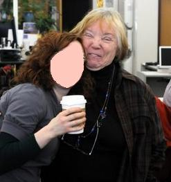 Name and face of innocent bystander withheld. Pic from 49writers blog.